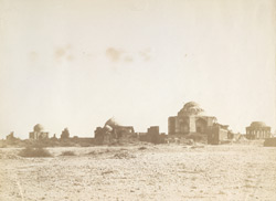 [General view of tombs at Tatta.]